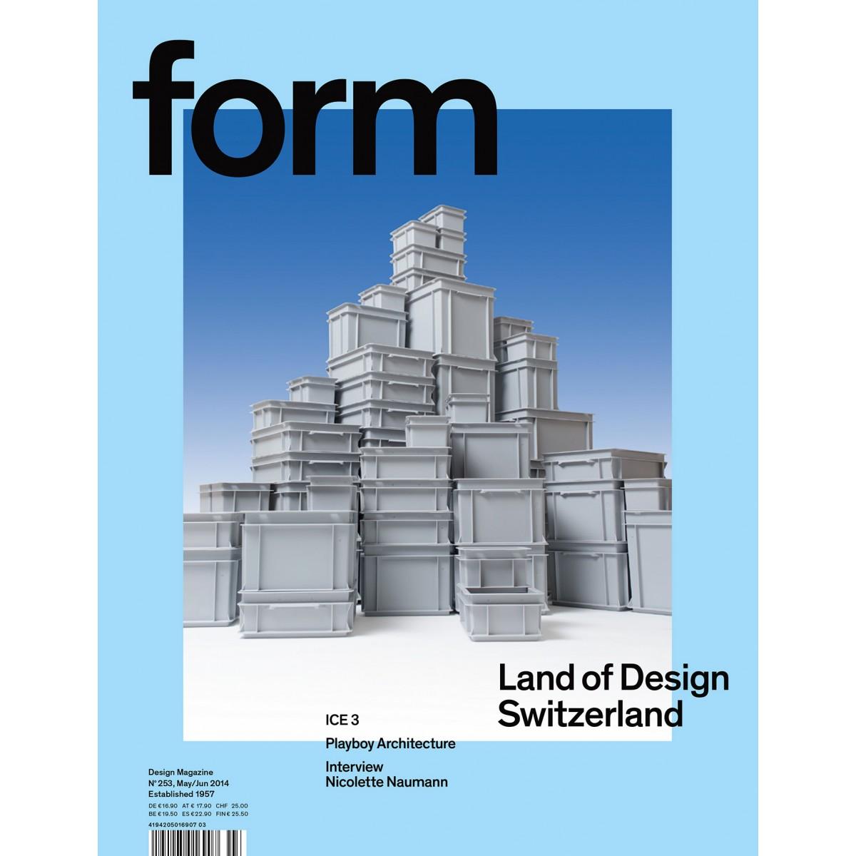 "form Edition #2, ""Photograph by Gerhardt Kellermann"", 2015"
