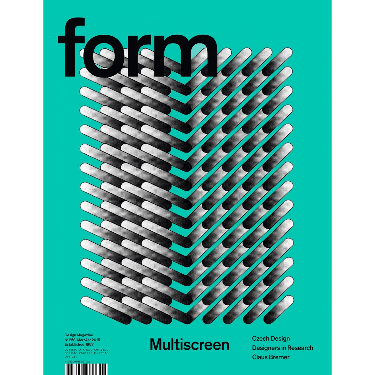 "form Edition #1 ""Risoprints by Sigrid Calon"", 2015, Illustration 4"