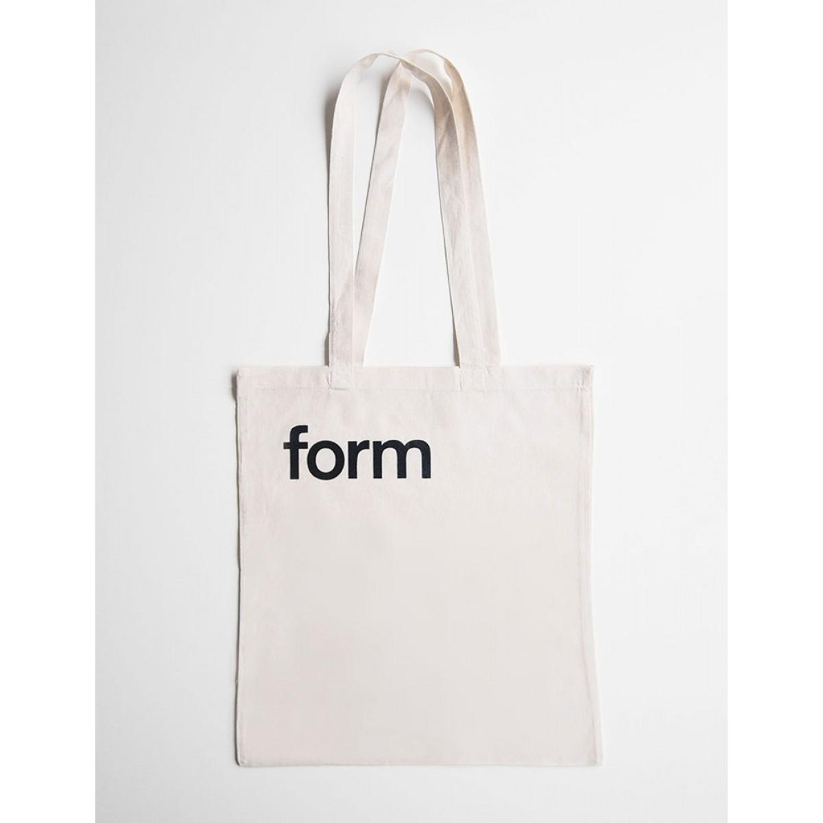 form Stofftasche schwarz