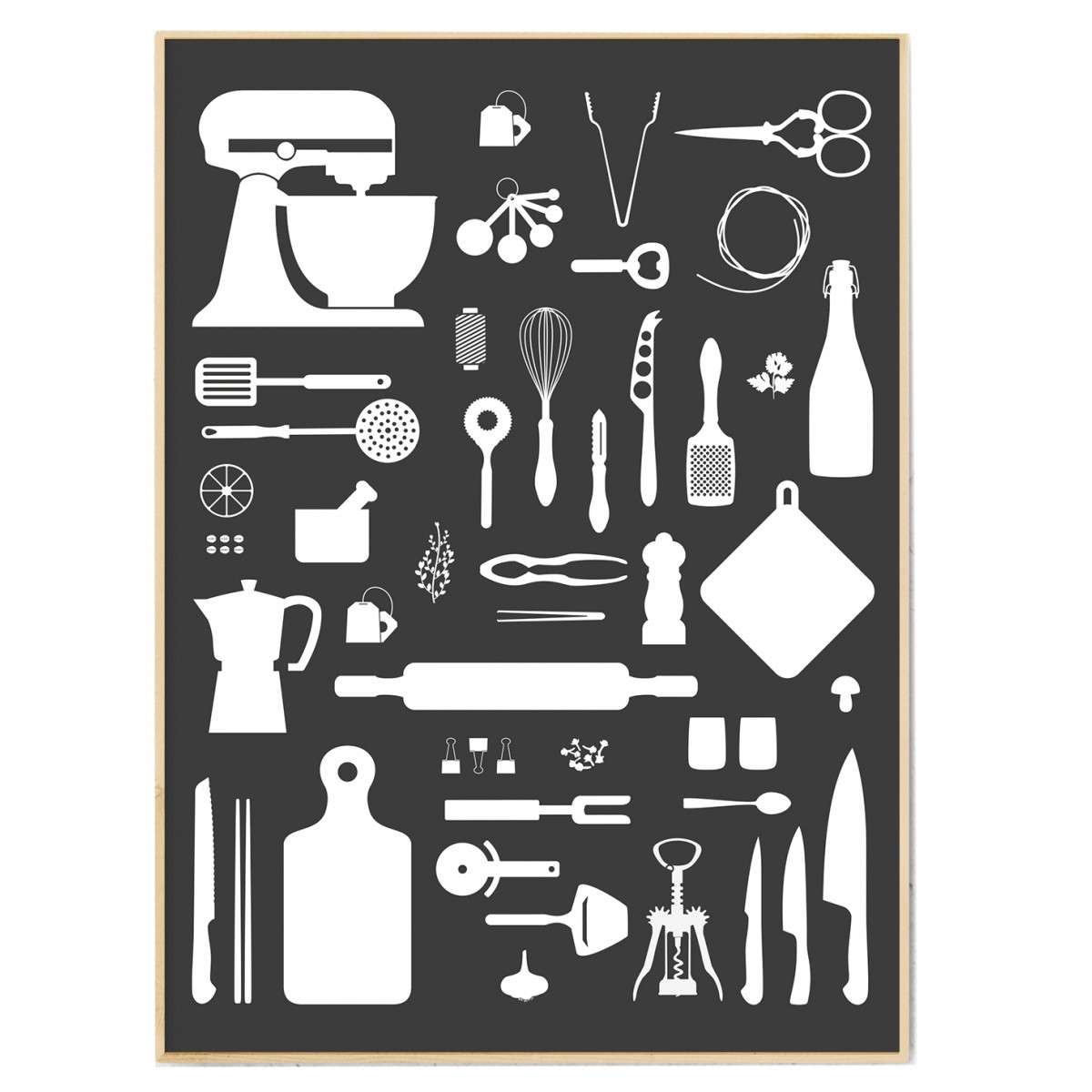 FOX&POET *Kitchen-Love* Poster