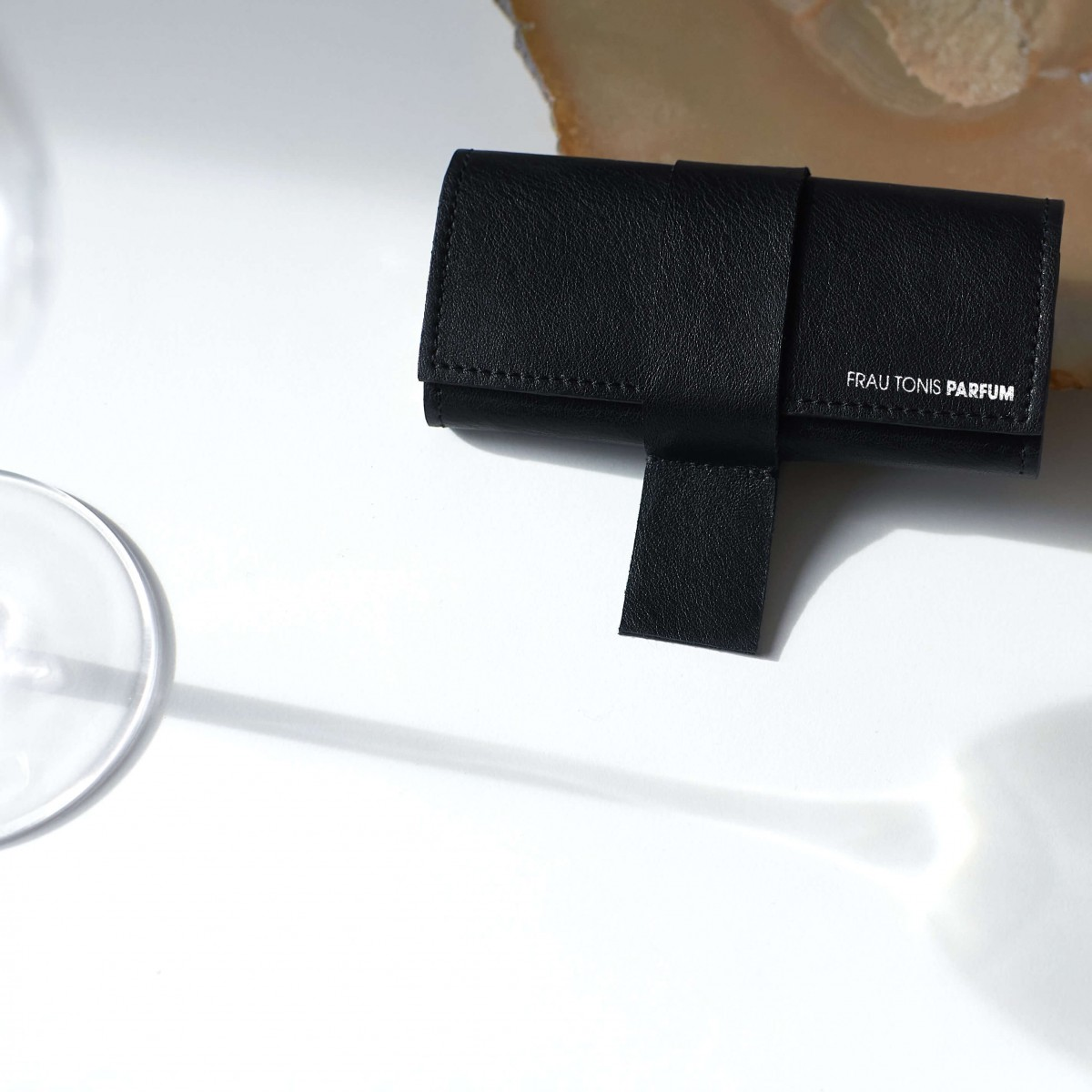 "Parfum-Etui ""CASE"" Black inkl. 3x7,5ml EdP"