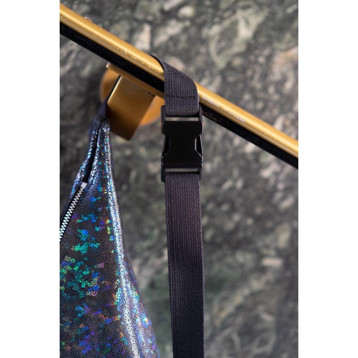 frisch Bauchtasche DISCO aus reflektierendem Leder
