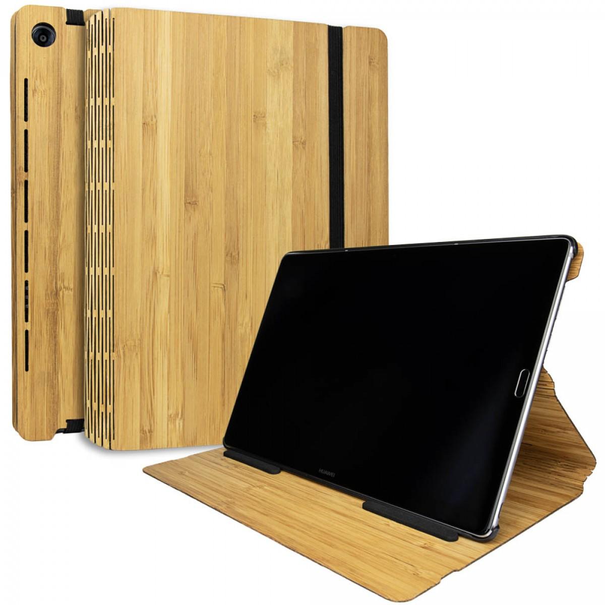 JUNGHOLZ Design WoodCase, Tabletcase, Bambus, Huawei MediaPad M5 Pro 10.8''
