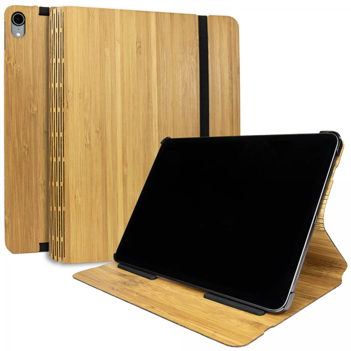 JUNGHOLZ Design WoodCase, Tabletcase, Bambus, iPad Pro 11''