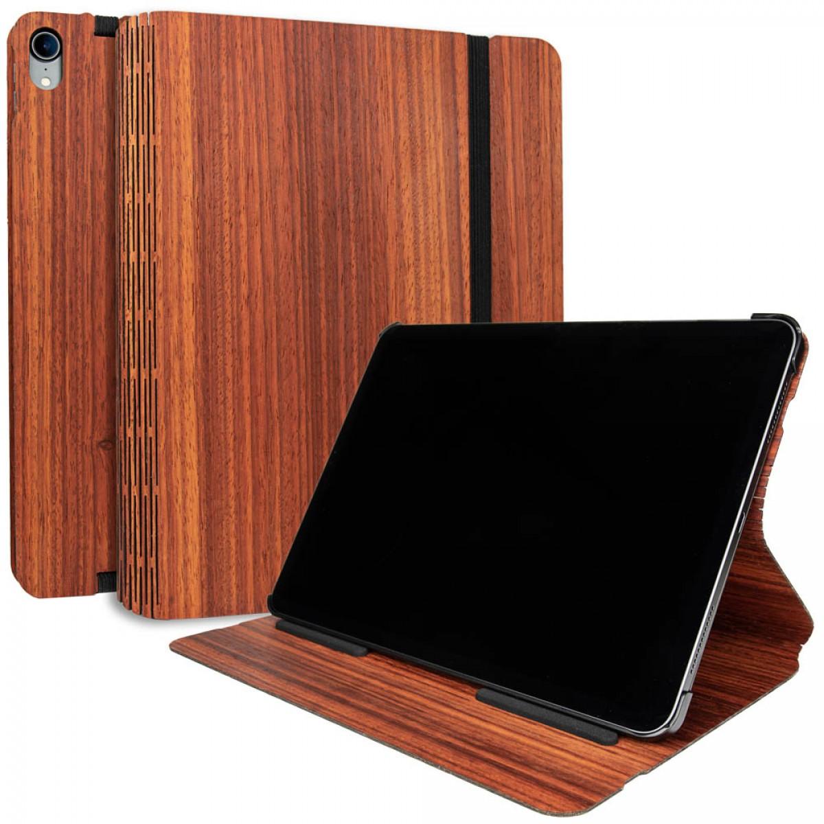 JUNGHOLZ Design WoodCase, Tabletcase, Padouk, iPad Pro 11''
