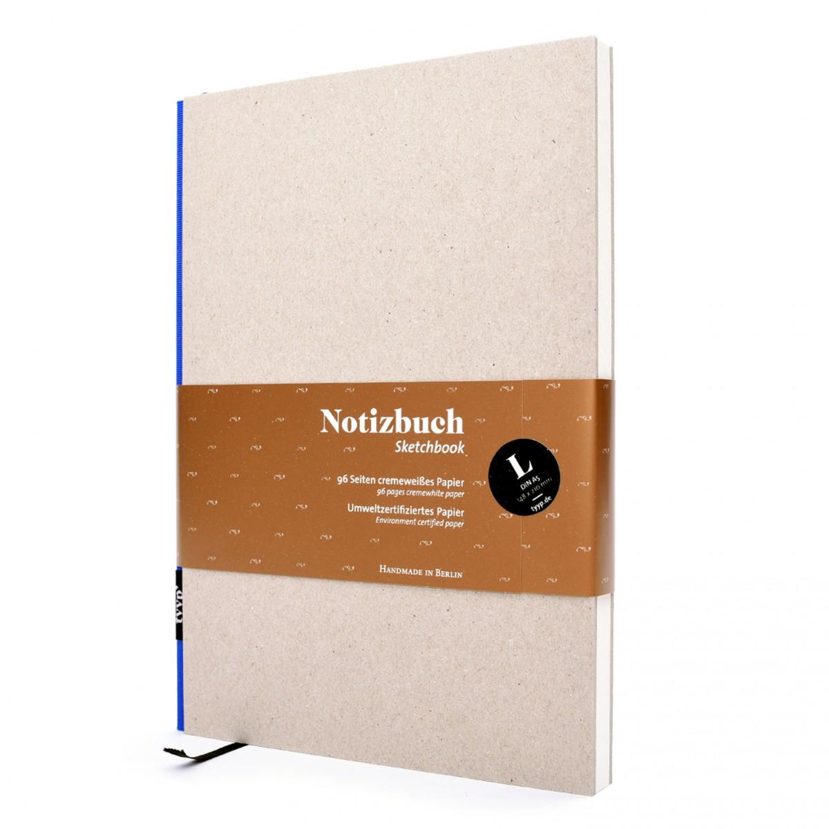 Notizbuch DIN A5 (Natur) Hardcover, Steifbroschure