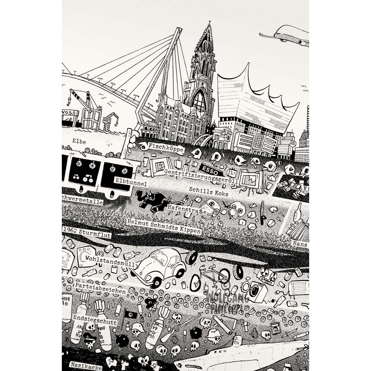 Wolfgang Philippi Hamburg Plakat