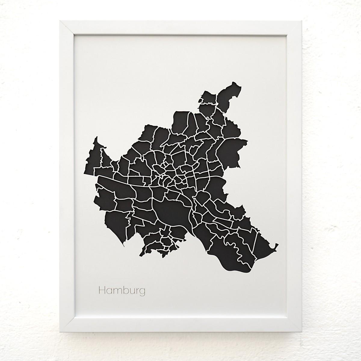 Frau Schneize 3d Stadtteile HAMBURG