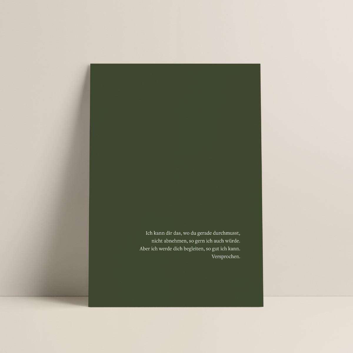 Versprochen III | 3er Set Klappkarten inkl. Umschlag | heartfelt paper & co