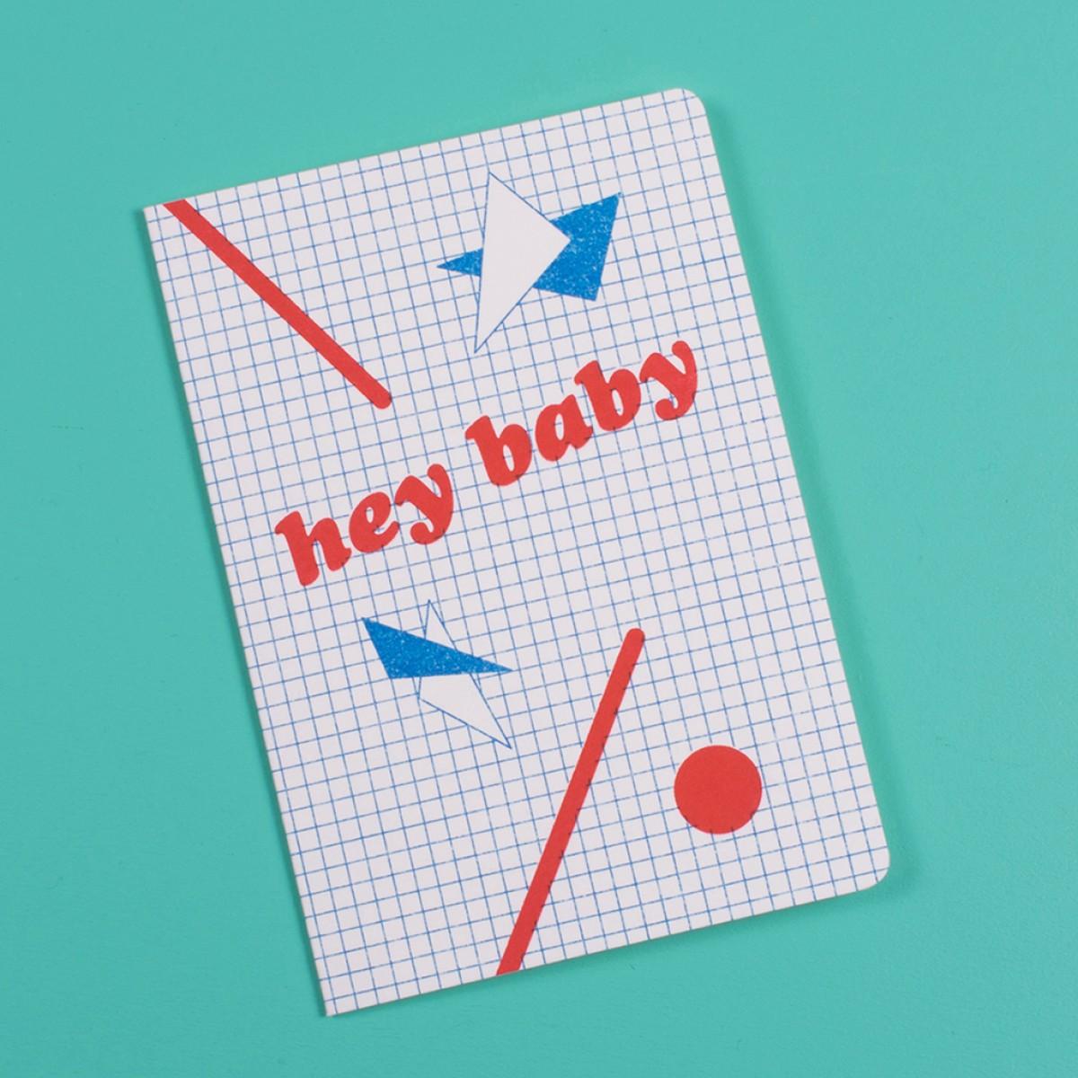 / hey baby - Grußkarte - Risoduck