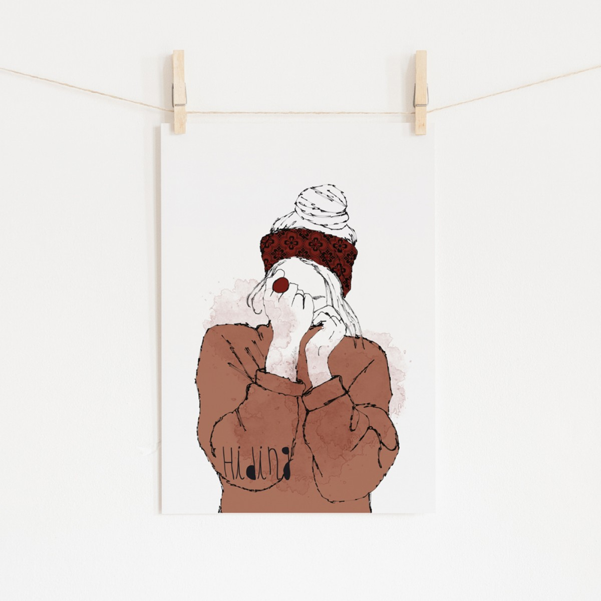 "nathys_illustration ""hiding"""