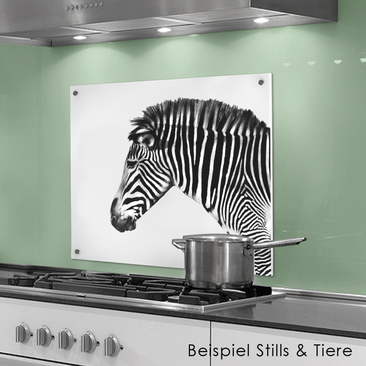 COGNOSCO Küchenrückwand 50x60 cm aus Glas - Hummer