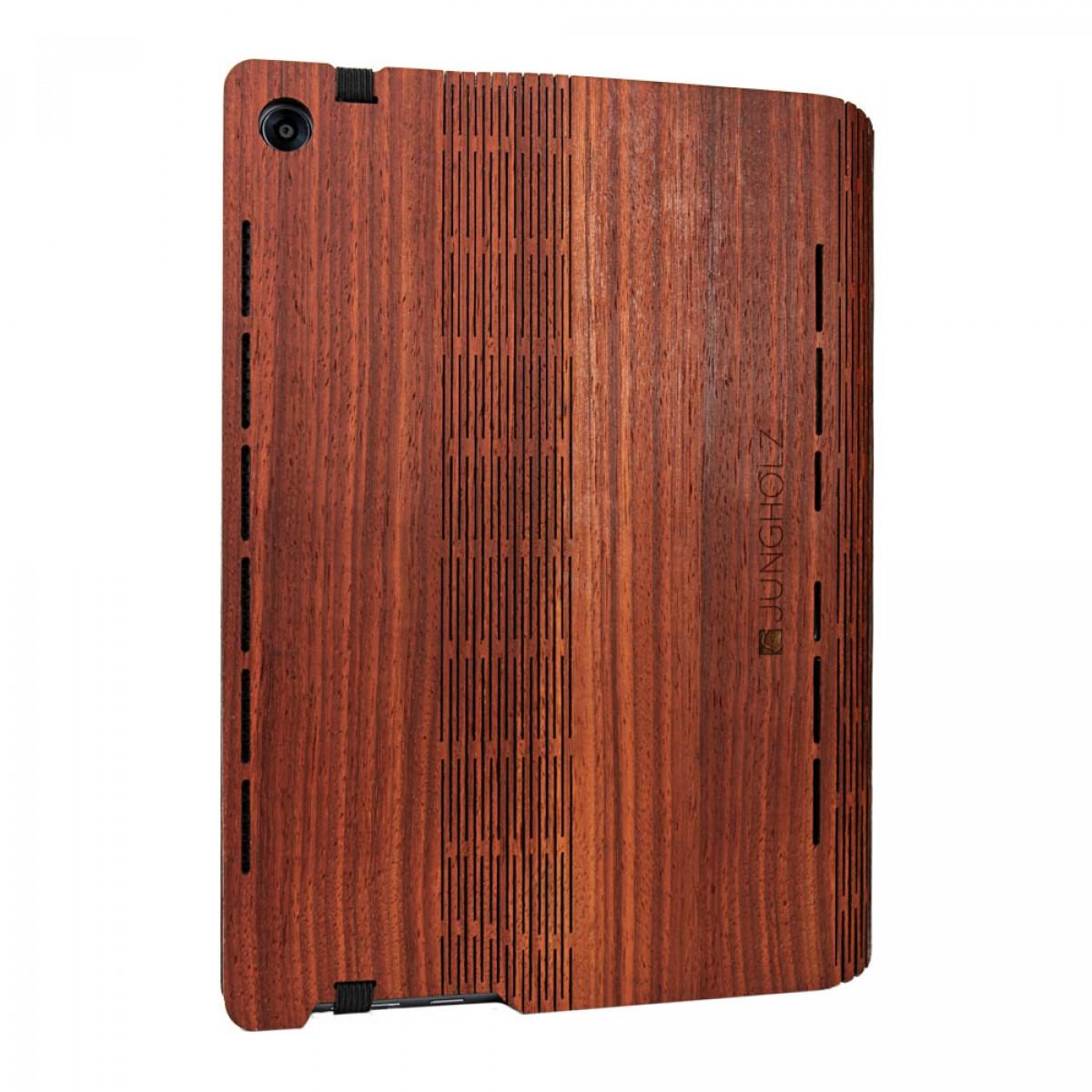 JUNGHOLZ Design WoodCase, Tablet, Padouk, Huawei MediaPad M5 Pro 10.8''