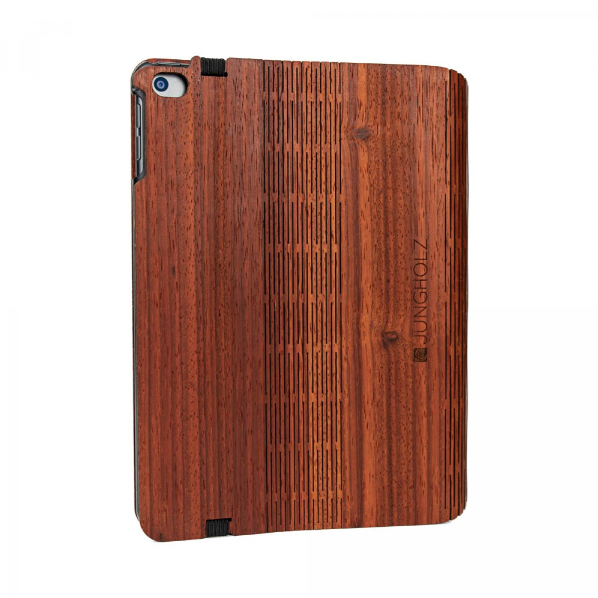 JUNGHOLZ Design WoodCase, Tablet, Padouk, iPad Mini 5.Generation