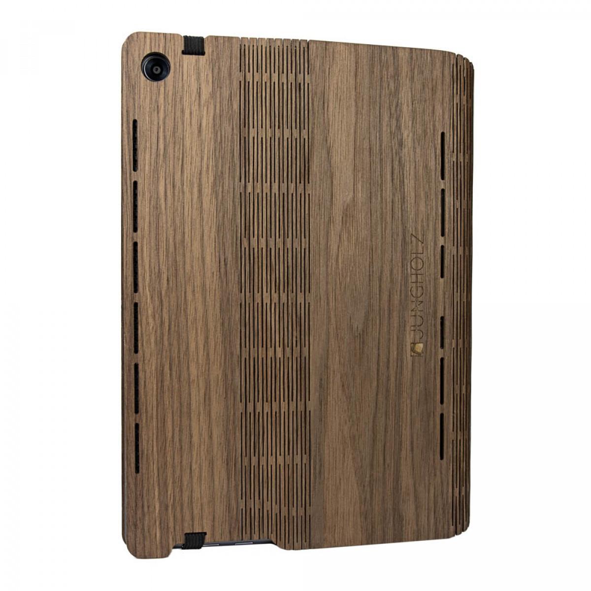 JUNGHOLZ Design WoodCase, Tablet, Walnuss, Huawei MediaPad M5 Pro 10.8''