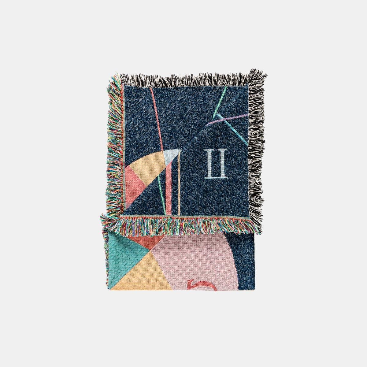 """hinzkunst Tagesdecke """"Holewang"""" 137×178 cm"""