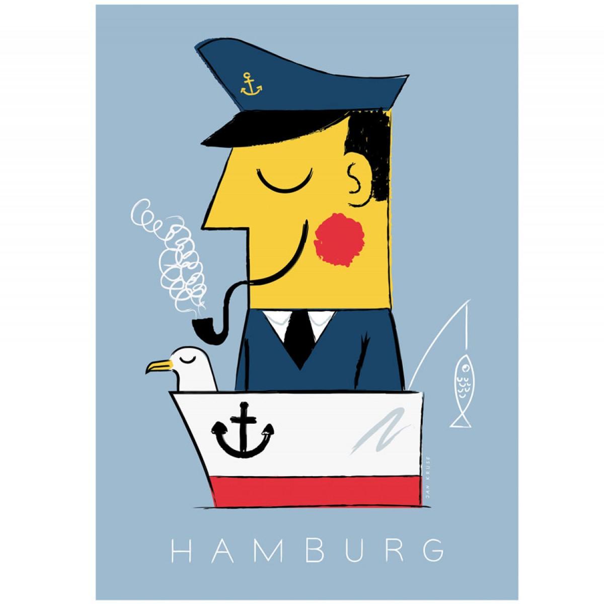 Human Empire Hamburg Kapitän Poster (50x70cm)