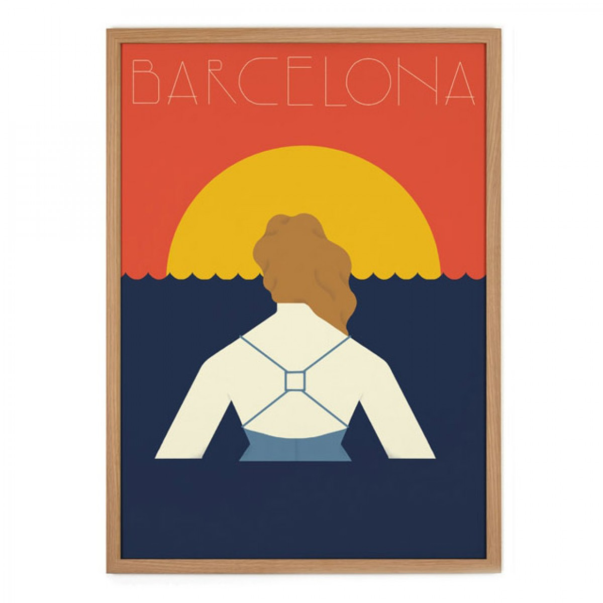 Human Empire Barcelona Poster (50x70cm)
