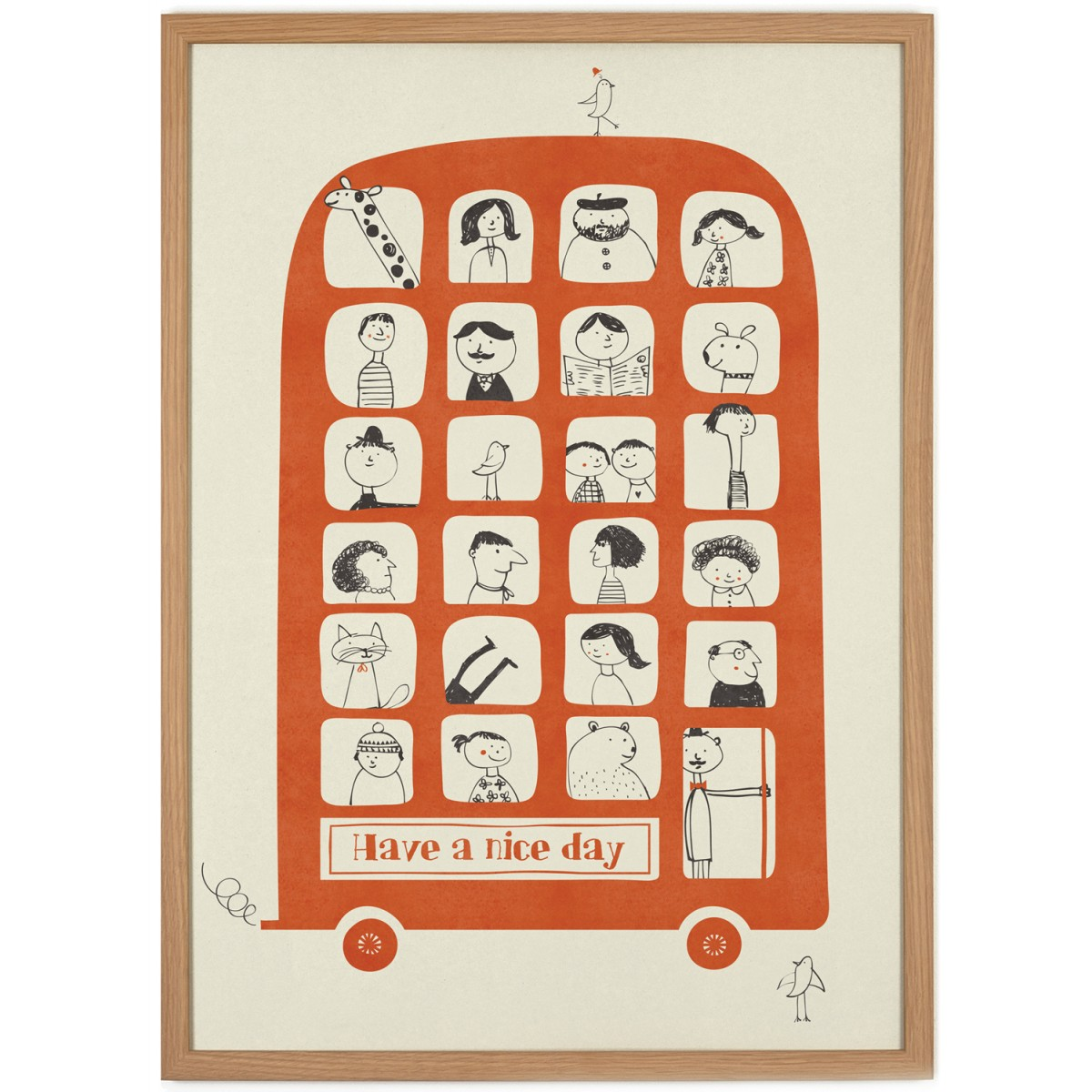 Human Empire Magic Bus Poster (50x70cm)