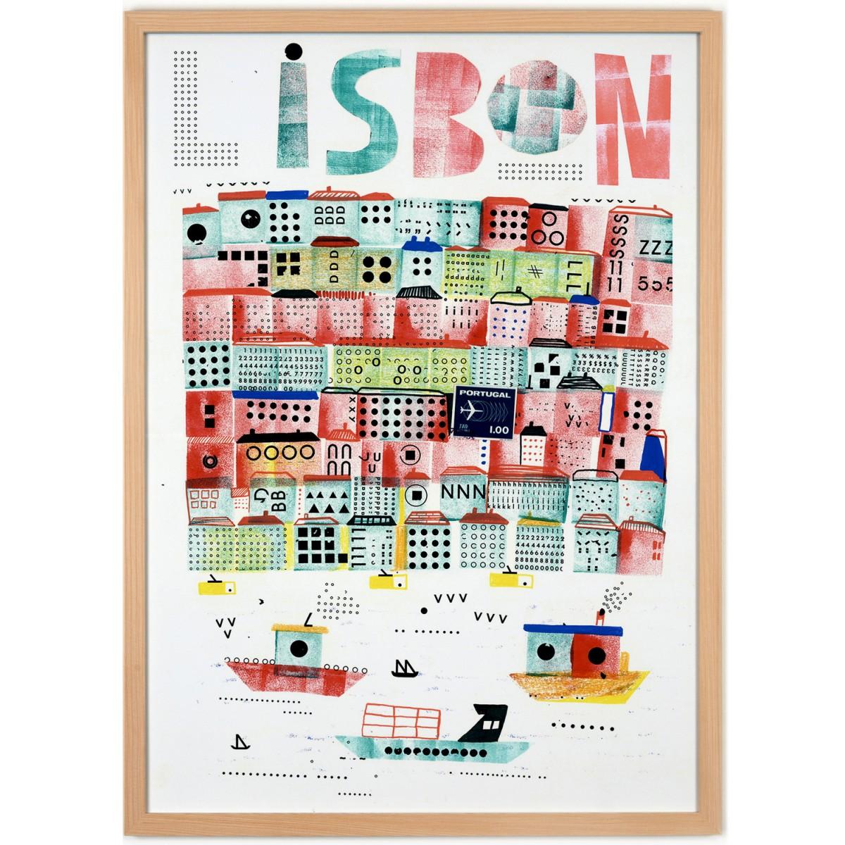 Human Empire Lissabon #2 Poster (50x70cm)