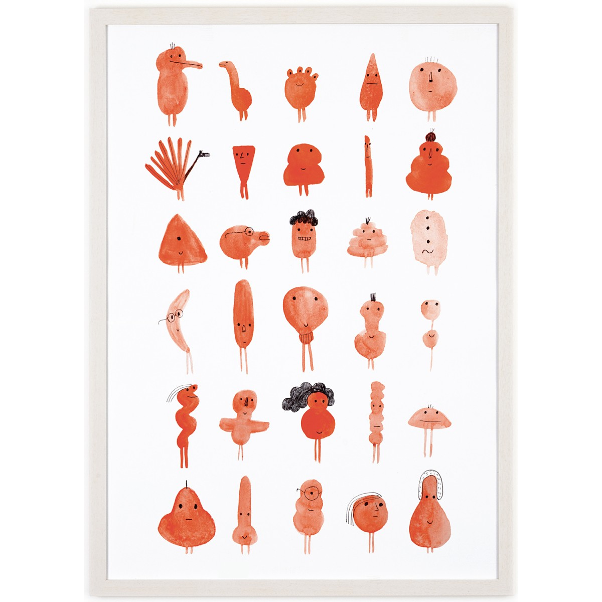 Human Empire Red Characters Poster (50x70cm)