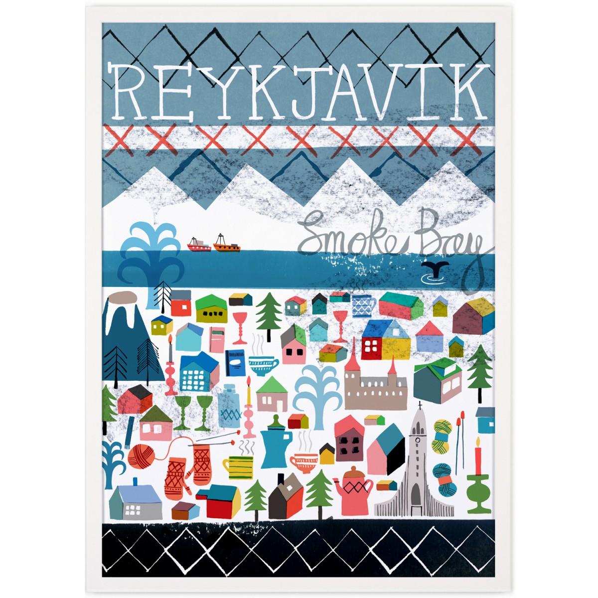 Human Empire Reykjavik Poster (50x70cm)