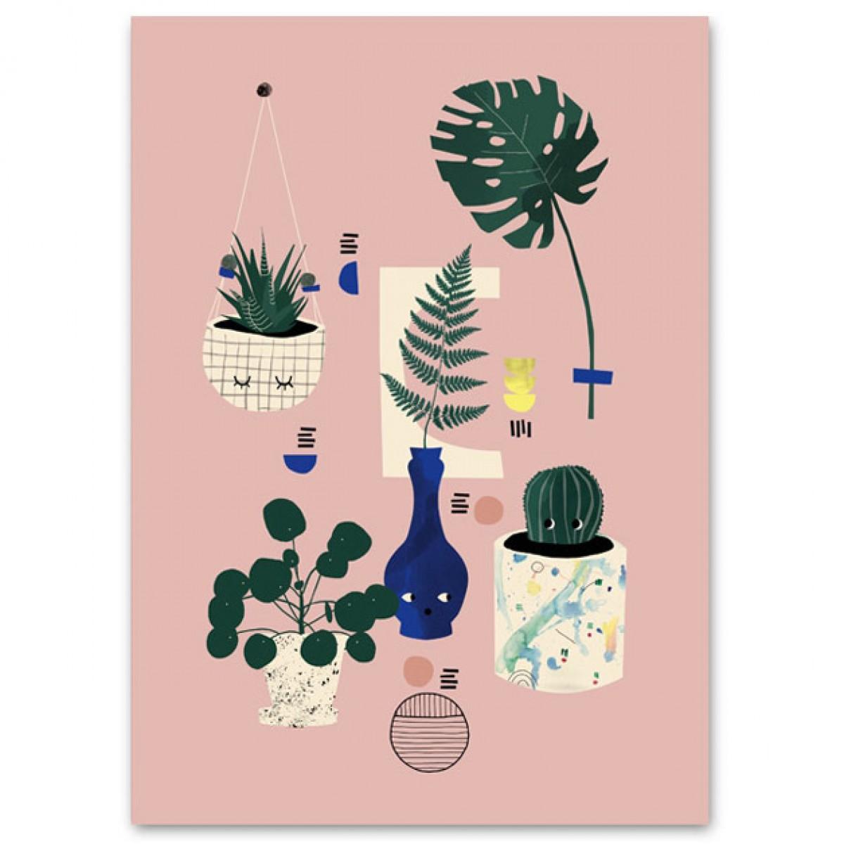 Human Empire Botanical Still Life Poster