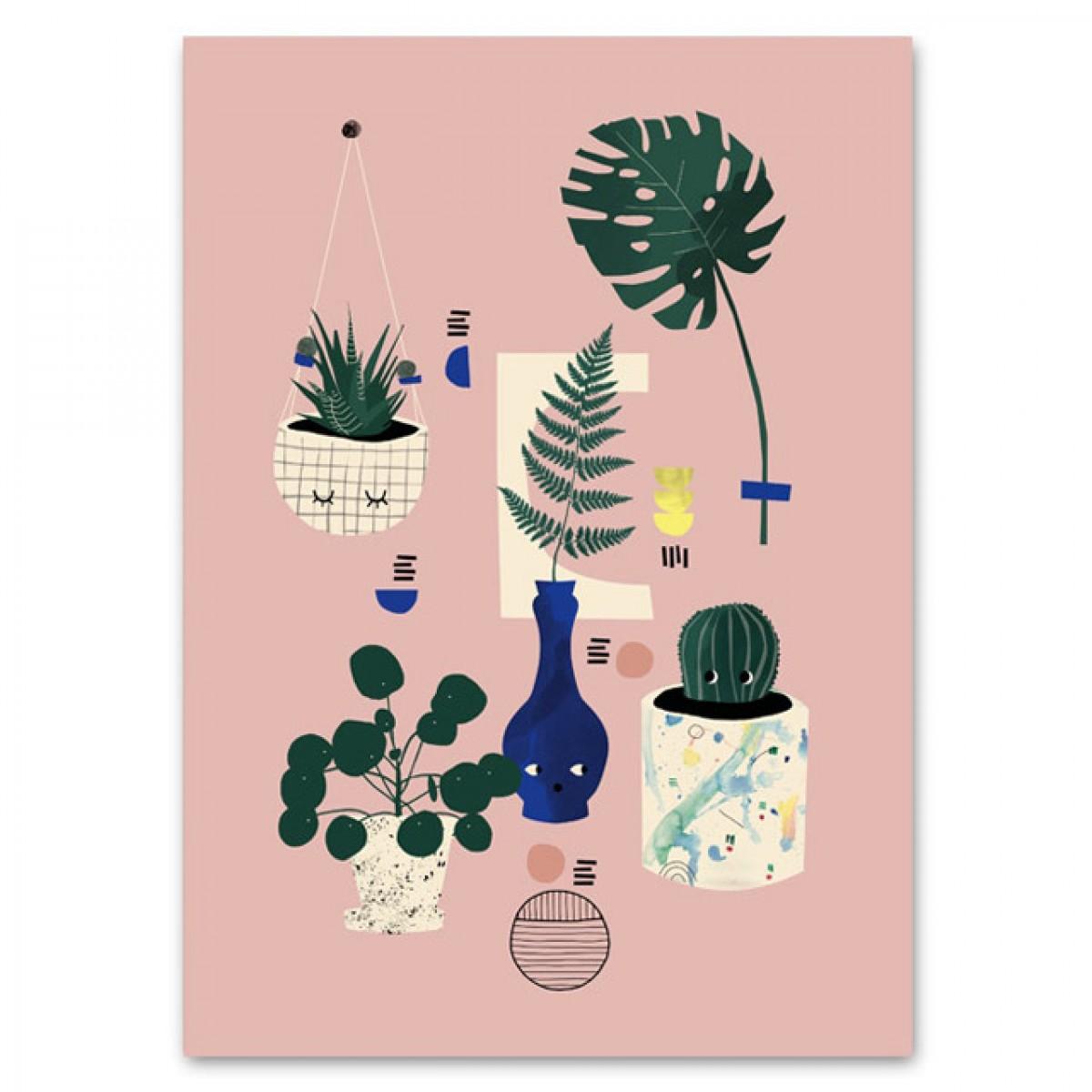 Botanical Still Life Poster