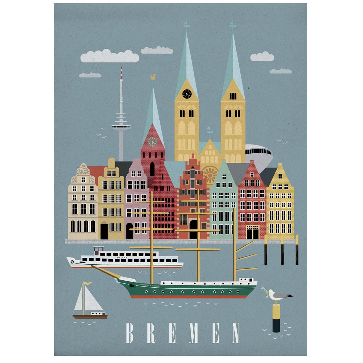 Human Empire Bremen #2 Poster (50x70cm)