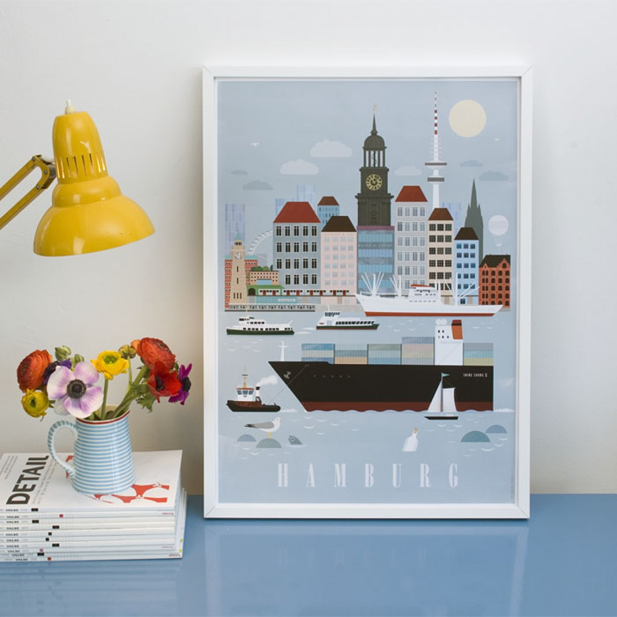 Human Empire Hamburg City Poster (50x70cm)