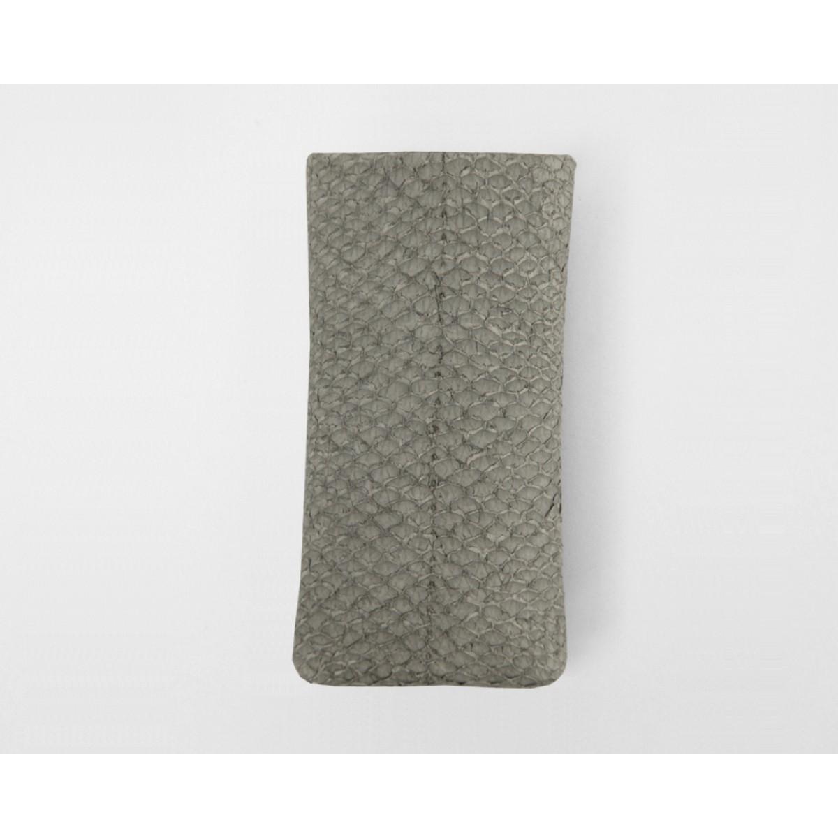 iPhone 5/5S Case Lachsleder grey