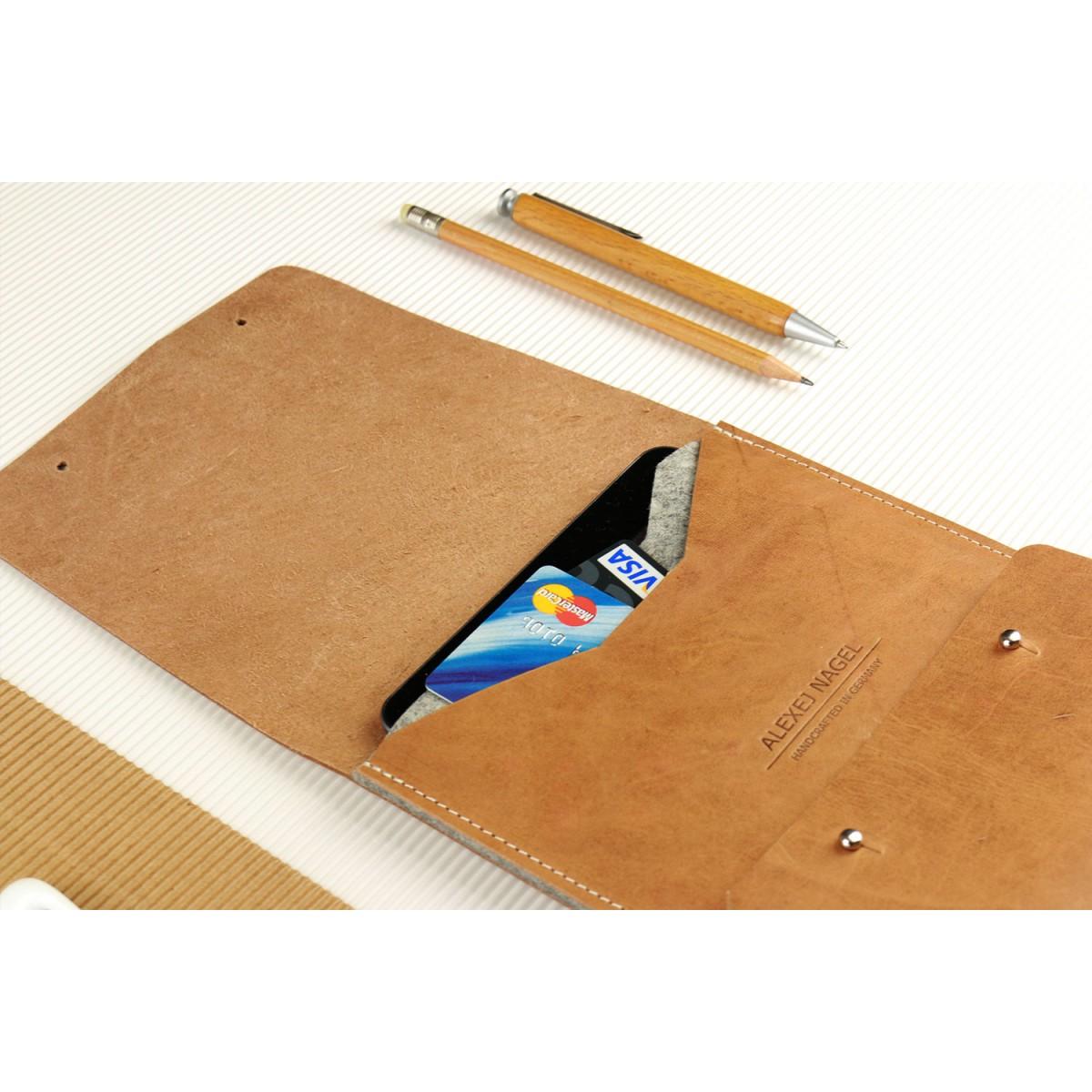 Alexej Nagel Elegante Hülle für iPad Air / Air 2 aus Vintage Leder [V]