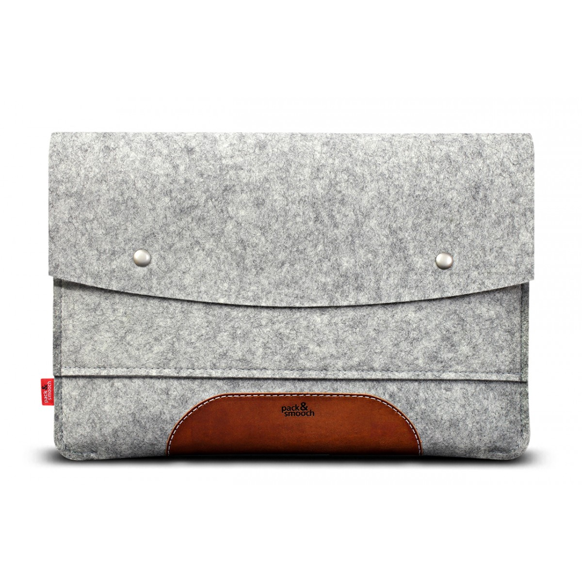 "Pack & Smooch iPad Pro 11"" Hülle, Case ""Hampshire"" 100% Merino Wollfilz, Pflanzlich gegerbtes Leder"