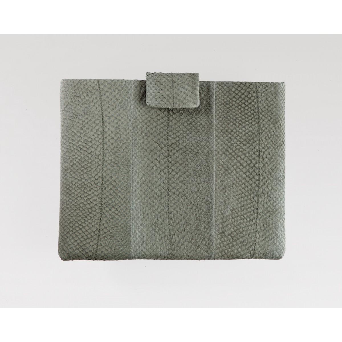 Lapàporter iPad case Lachsleder (reed)