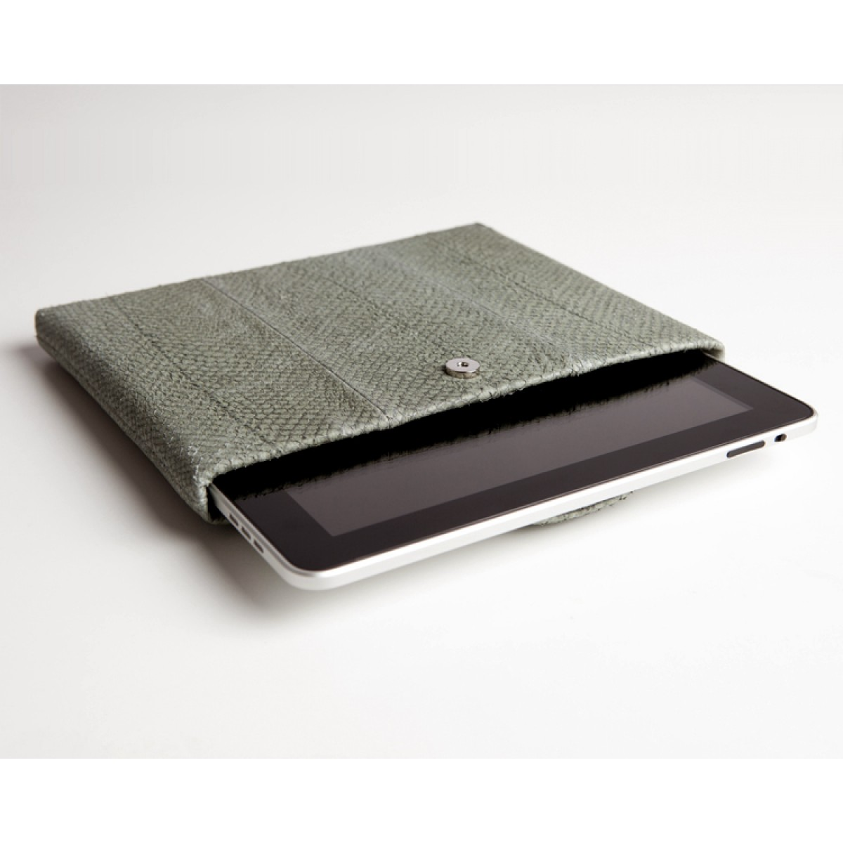 iPad case Lachsleder, reed
