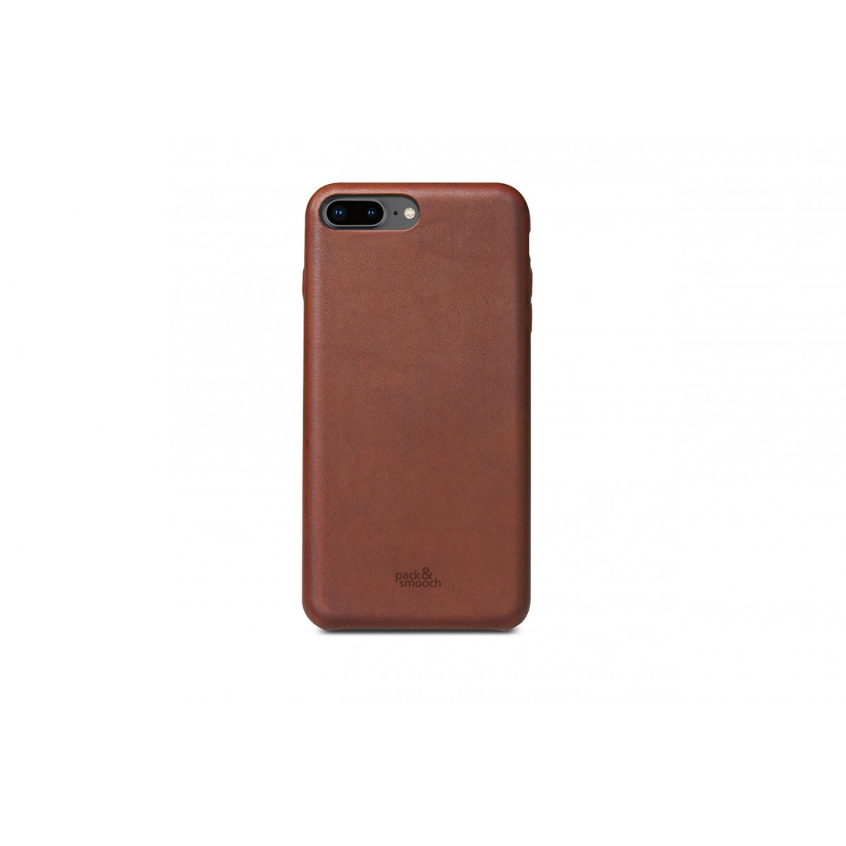 Pack & Smooch iPhone 7 PLUS Leder Hülle, Back Cover (Vegetable tanned leather)