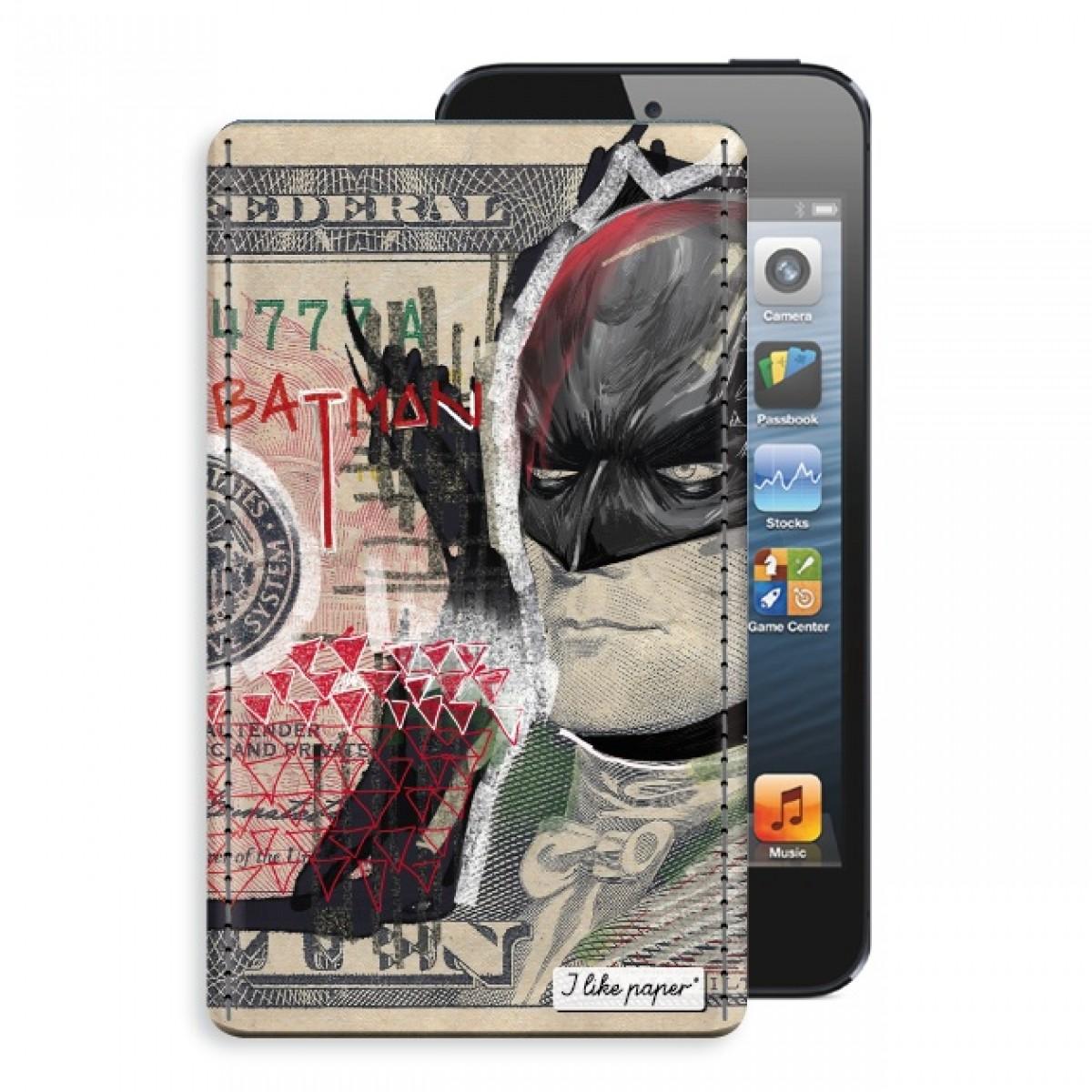 """TYVEK® CASE """"THE DARK NIGHT"""" by Mister Malik (für iPhone)"""