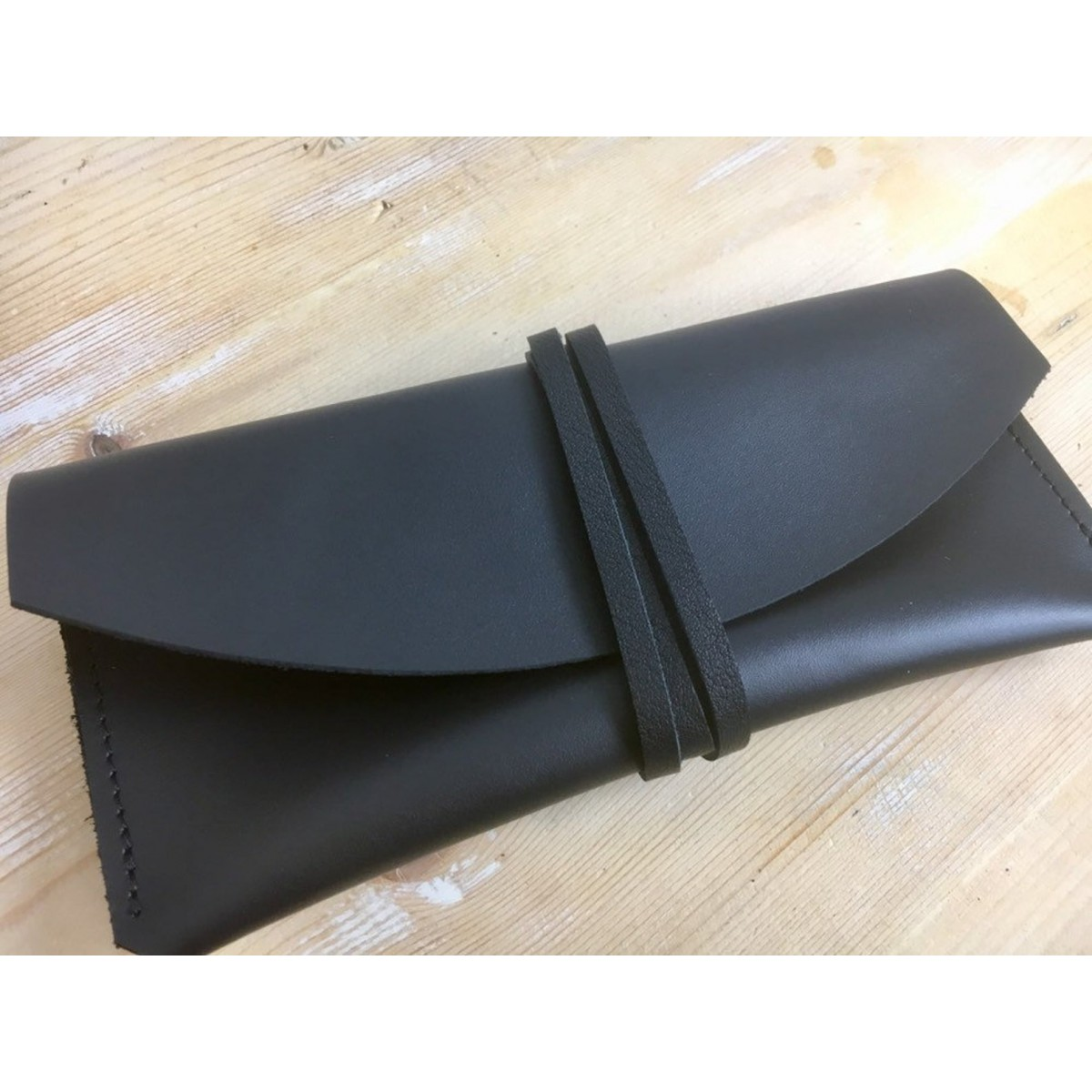 BSaite / Leder Brillenetui / Leder Etui / Sonnenbrillen Etui / Leder Clutch / glasses case / minimal