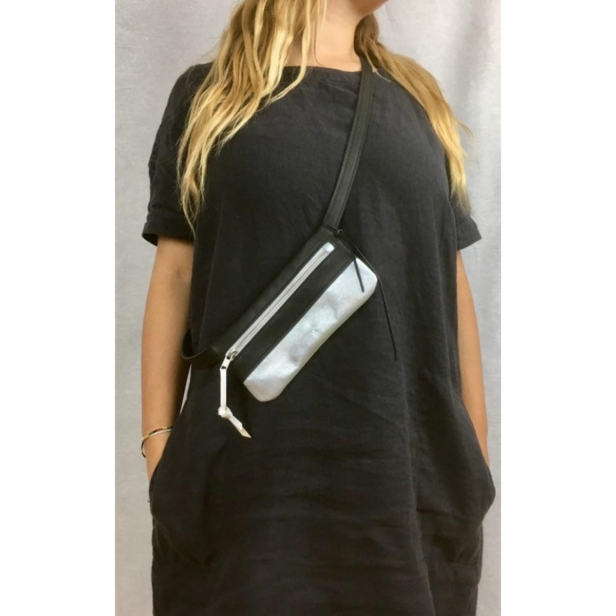 BSAITE Bauchtasche / Hip Bag / Echt Leder / maximal
