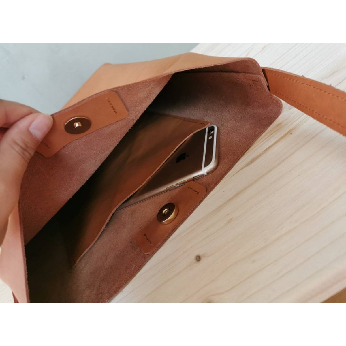 Camel Braune Leder Beuteltasche // leather Bucket Bag // Tote Bag // Boho Bag // Ledershopper // Crossbody Bag