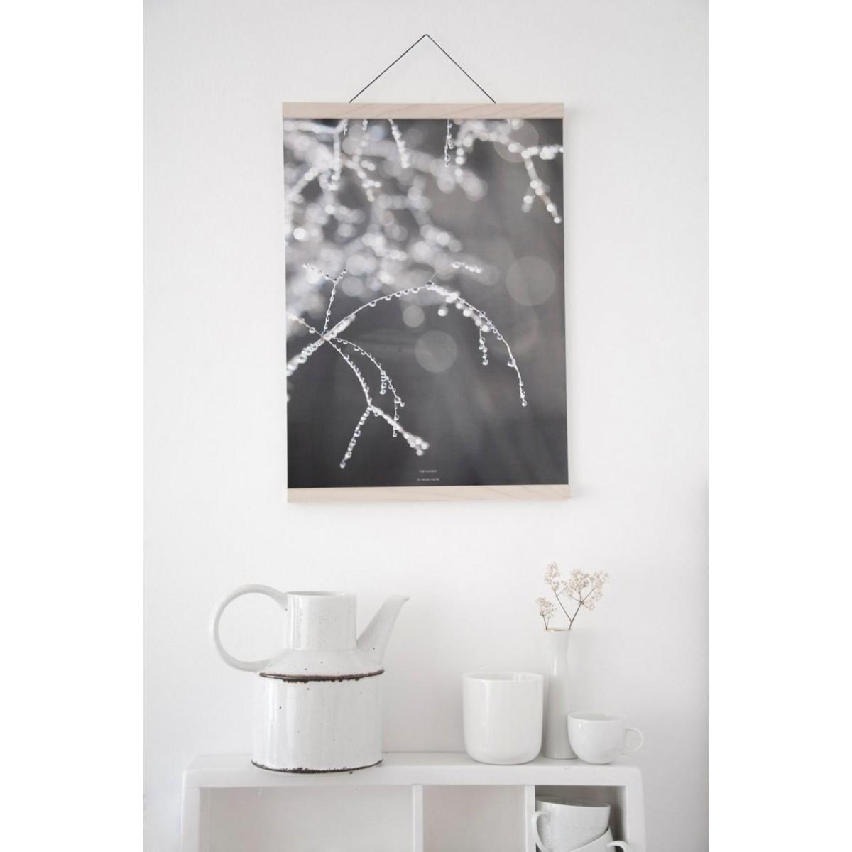 nahili magnetische Posterleiste A3, Eco Click - On - Frame, Rahmen (inkl. Artprint)
