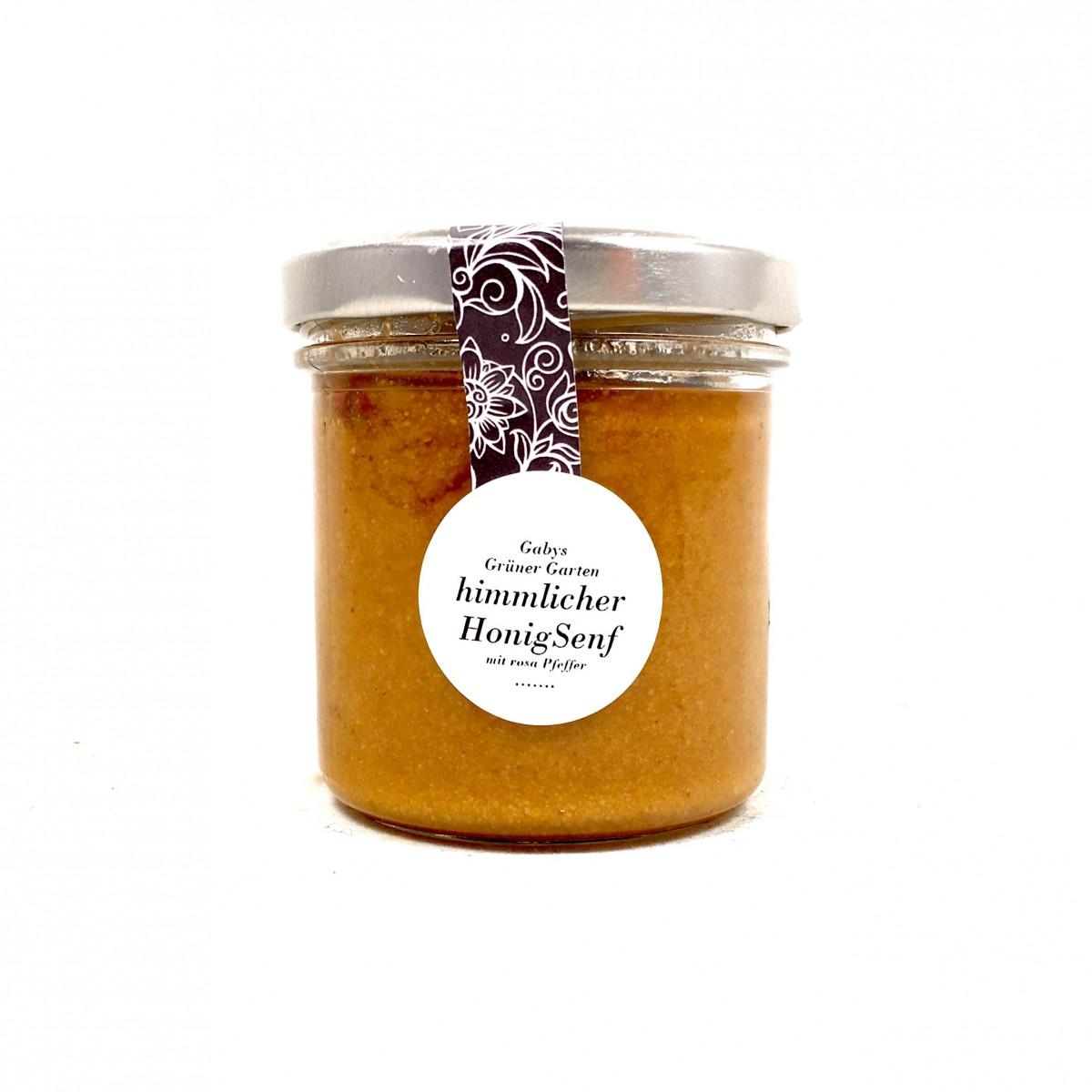 Gabys Grüner Garten himmlischer Honig Senf 165g