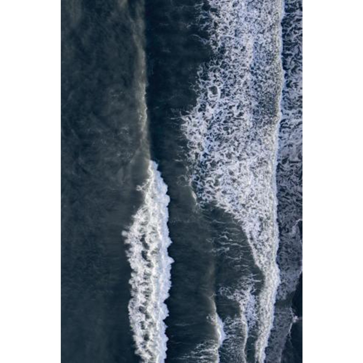 "nahili ARTPRINT / POSTER ""in the OCEAN"" Natur - Drohne Fotografie Meer (DIN A1/A3 & 50x70cm)"