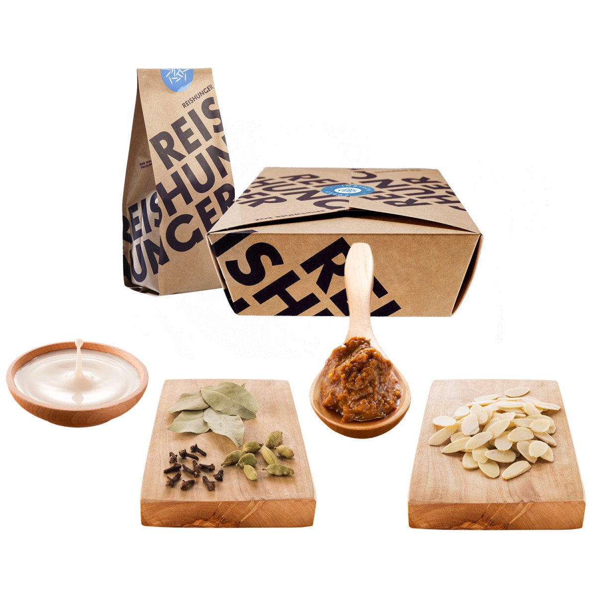 Reishunger Indisch Curry Box