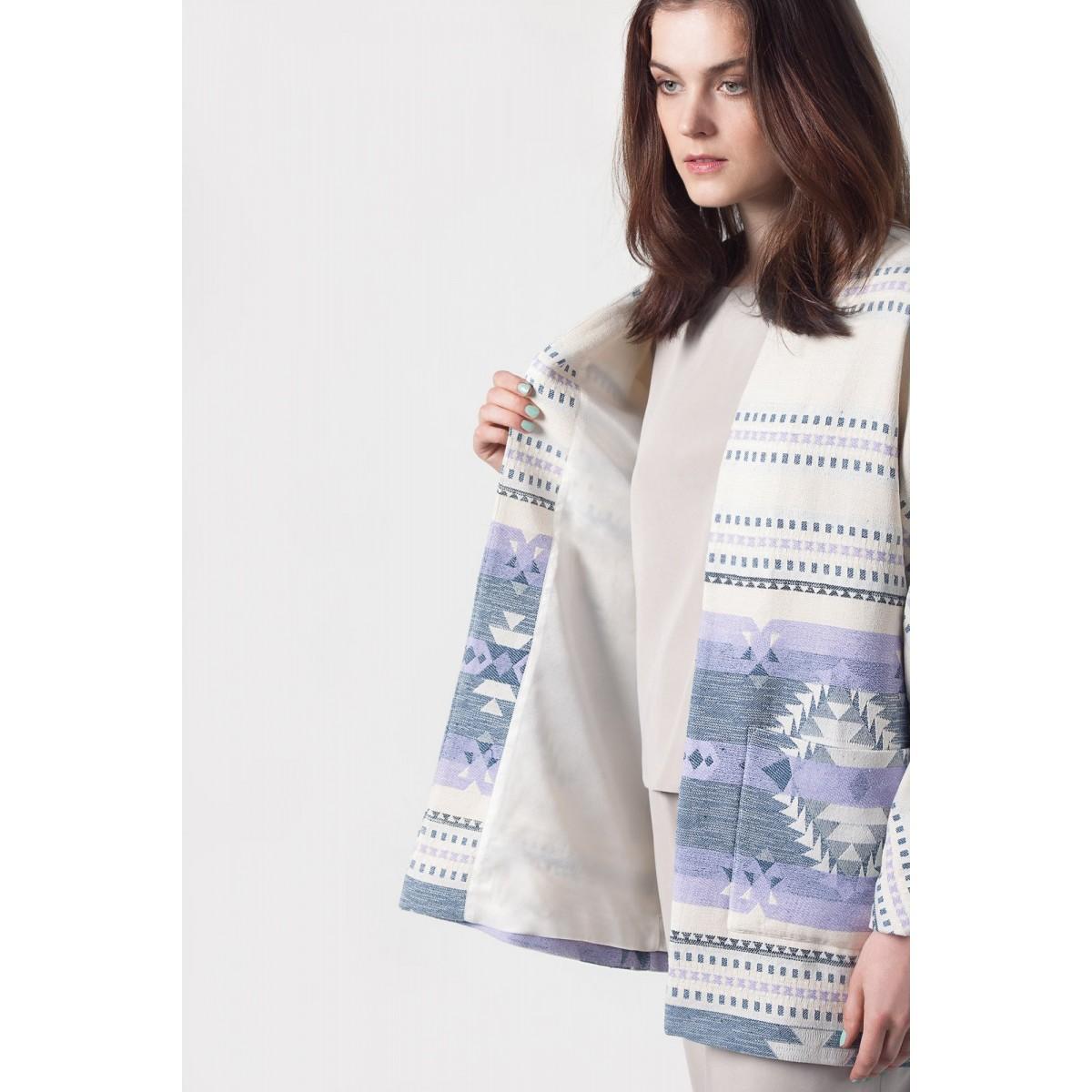 Johanna Junker // Kimono violett (onesize)