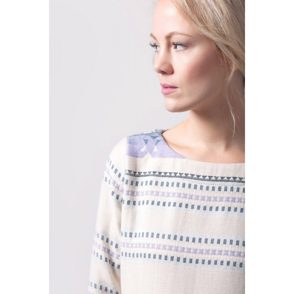 Johanna Junker // Kleid violett (onesize)