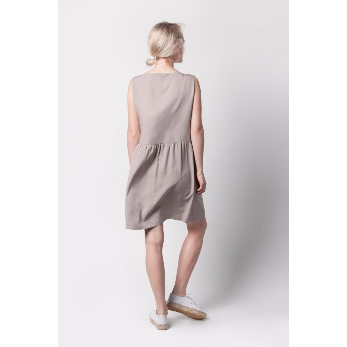 Johanna Junker // Trägerkleid - nude (onesize)