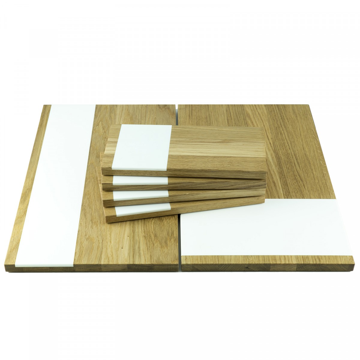 Küchenbrett 6er Set | Servierbrett, Schneidebretter | Holzbutiq