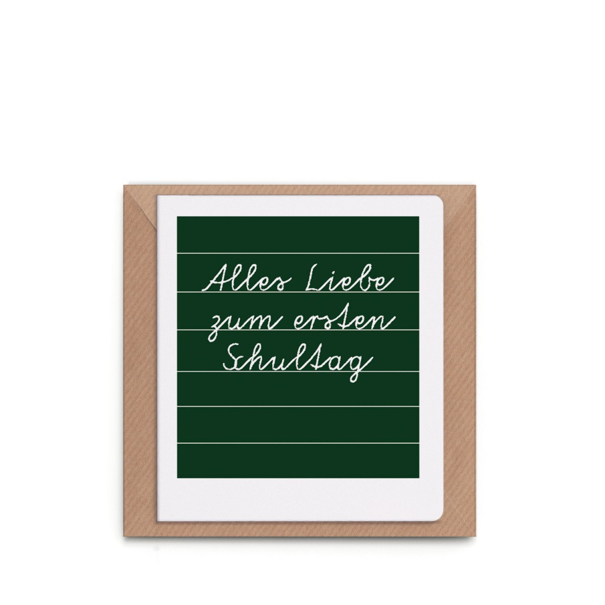 """sonst noch was? - Grußkarte """"Alles Liebe zum ersten Schultag"""""""