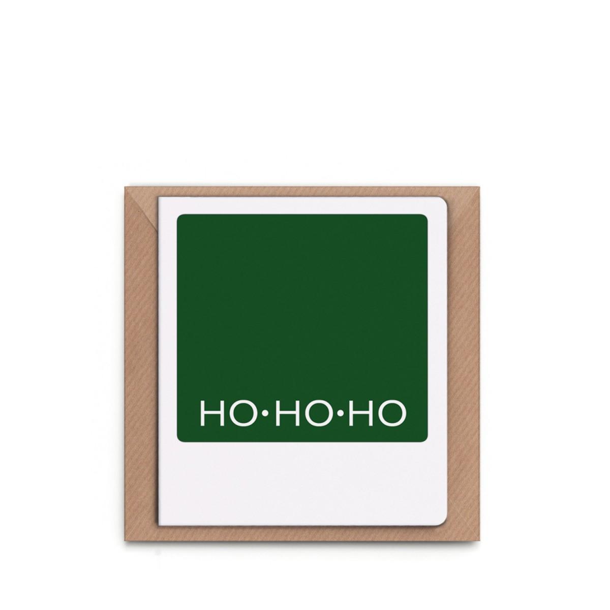 """sonst noch was? Weihnachtskarte """"Ho Ho Ho"""""""
